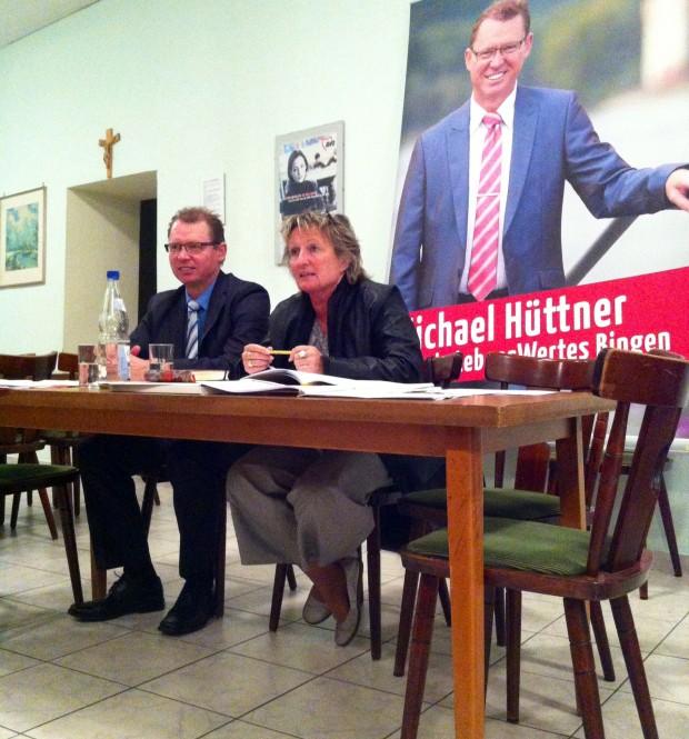 Ministerin Irene Alt zu Gast in Bingen