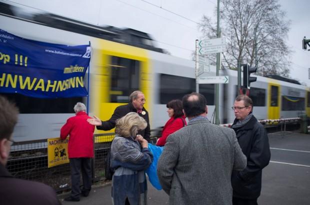 Bahnlärm: Forderung nach Alternativ-Strecke