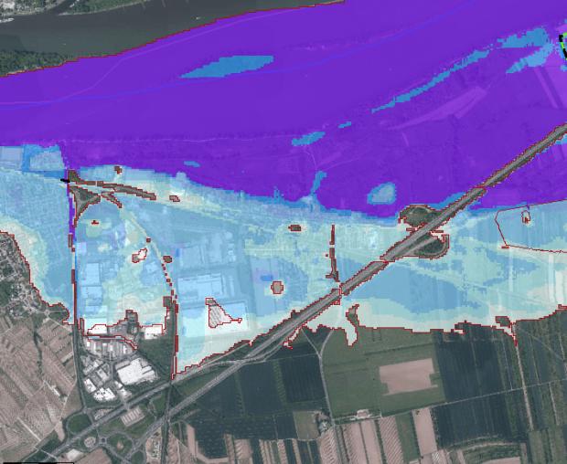 """Hochwasserschutz in Gaulsheim: """"Druck machen hat sich ausgezahlt"""""""