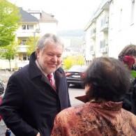 """Kurt Beck zu Gast in Bingen: """"Ehrenamt ist ein Schatz"""""""