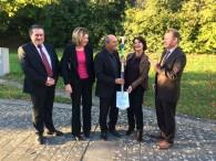 Ministerin Vera Reiß besucht Fachhochschule Bingen!
