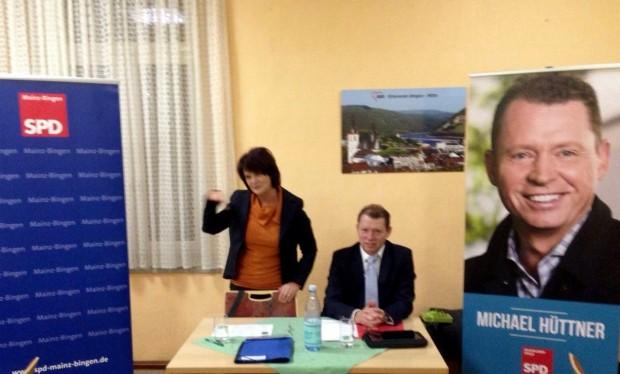 Bildungsministerin Vera Reiß zu Gast in Bingen