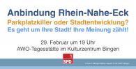 Anbindung Rhein-Nahe-Eck: Parkplatzkiller oder Stadtentwicklung