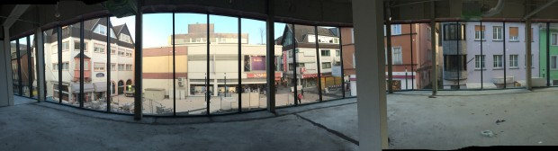 SPD Fraktion besucht Baustelle des City Centers